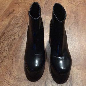 Size EU 38 Zara platform boots